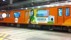 Railway Coach Media Advertising Service