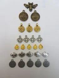 Metal Locket for Garments Accessories