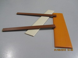 Small Half Round PVC Profiles