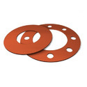 Silicone Rubber Flange Gaskets, Packaging Type: Polybag , Thickness: 4-10 Mm