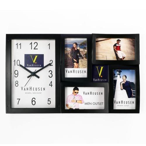 Plastic Big Photo Frame Wall Clock, Rs 400 /piece, Camel Marketing ...