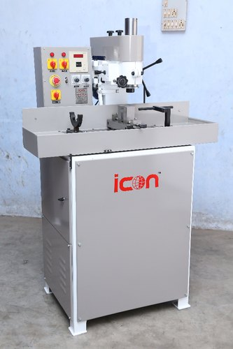 ICON Verticle Semi Automatic Keyway Milling Machine, Model Name/Number: I-200