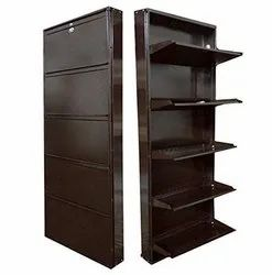 5 Shelves Metal Shoe Rack