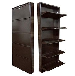 5c40848ef55 Gajjar Industries Carbon Steel Metal Shoe Rack 5 Shelves