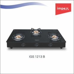 3 Burner Gas Stove (Igs 1213b - Design)