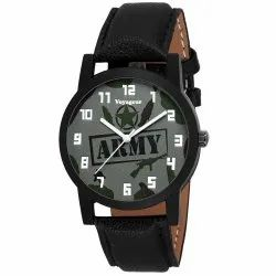 Black Mens Wrist Watch