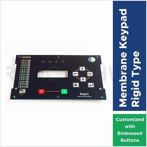 PCB Based Membrane Keypad with Embossed Button and ESD Protection