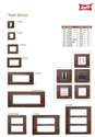 Teak Wood Modular Switch