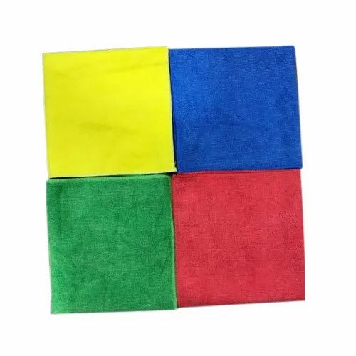 Plain Microfiber Cloth, for Car Cleaning
