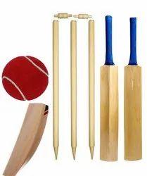Junior Wooden Combo Cricket Set Size 5 Cricket Kit