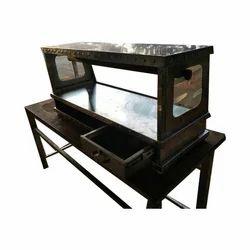 SS Glass Display Counter