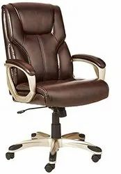 Leather Chair, Brown