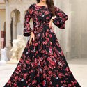 Exclusive Designer Heavy Long Gown For Women