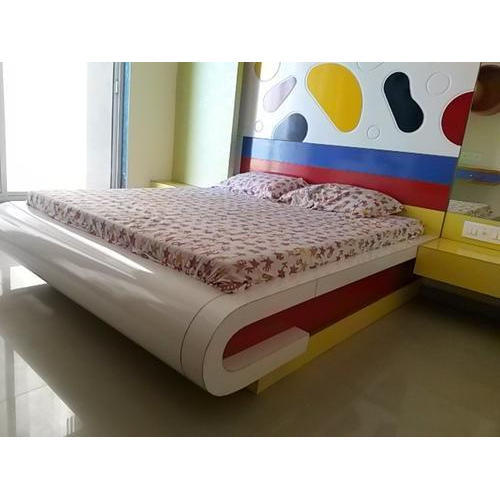 Designer Wooden Bed at Rs  piece  Wooden Bed - Arihant