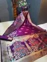 Banasari Handloom Weaving Silk Saree