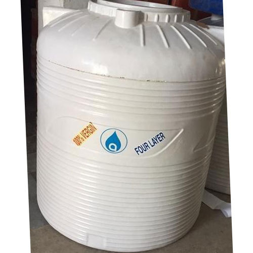 four layer plastic water tank