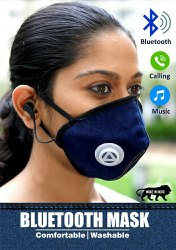 Bluetooth mask