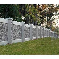 Garden Boundary Wall