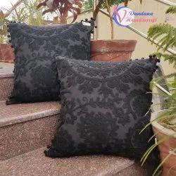Suzani Decorative Embroidered Indian Cushion Cover
