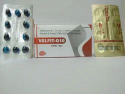Ubidecarenone, L-Carnitine, L-Arginine, Lycopene, Selenium & Omega 3 Fatty Acid Soft Gel Capsule