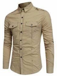 Gents Double Pocket Cargo Shirt