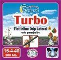 0.7 mm Rounak Turbo Flat Inline Drip Pipe