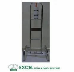 SS Foot Operated Hand Sanitizer Dispenser