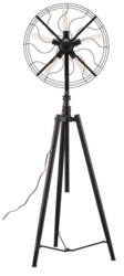 Antique Fan Lamp