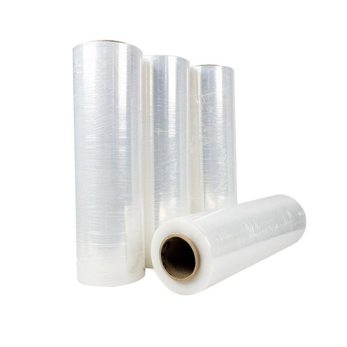 Transparent PE Stretch Film, Packaging Type: Roll