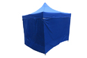 Quick Foldable Gazebo Tent-10'x10'-Side Wall-Heavy Duty-Blue