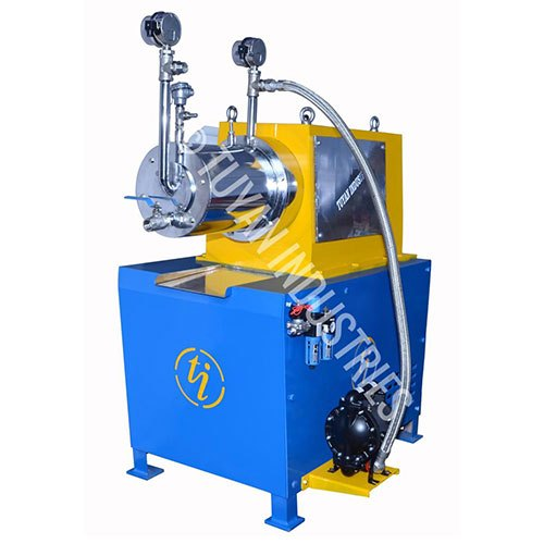 Mild Steel/ Stainless Steel Horizontal Bead Mill, Capacity: 5 Liters To 100 Liters, Automation Grade: Automate