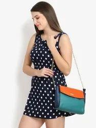 Colourblocked Sling Bag