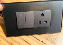 6 A Norisys Modular Switches, Module Size: 1 Module, 220-240 V
