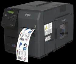 Digital USB Epson Color Label Printer, Black Mark, Model Name/Number: C7500