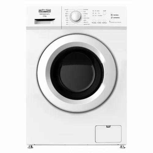 Mitashi 6 kg Fully Automatic Front Load Washing Machine, WMFA600K100 FL, White