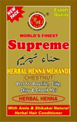 Supreme Chestnut Herbal Mehandi