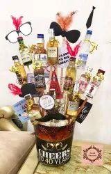 Glass Bottle Bouquets