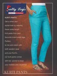 Plain Formal Wear Kurti Pants