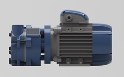 PARAG 710 MM OF HG 2HP Direct Drive Water Ring Vacuum Pump For Steriliser, Max Flow Rate: 45M3/HR