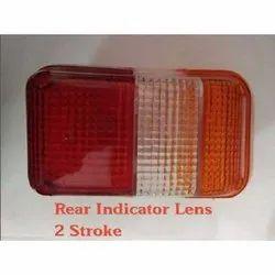 Bajaj 3 wheeler 2 Stroke Rear Indicator Lens
