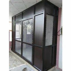 Coated Color Standard Office Aluminium Glass Door