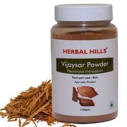 Ayurvedic Vijaysar Powder - 100 gms - Healthy Life Style