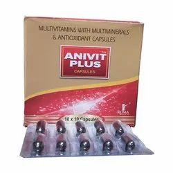 Ginseng Extract Powder  - 42.5 mg    Vitamin A - 2500 Iu Vitamin B1 - 1 Mgvitamin B2 - 1.5mg