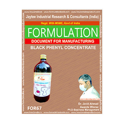Black Disinfectant Phenyl Formulation E Book For In Pharmaceutical Industries Rs 130000 Piece Id 14572498833