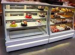 Stainless Steel Decorative Display Counter