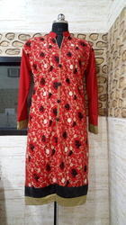 Tegh Collection Ladies Woolen Branded Kashmiri Embroidery Kurti