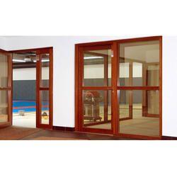 Automatic Wood Swing Door