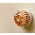 Antique Style Fluted Copper Switch
