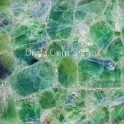 Emerald Green Fluorite Slab