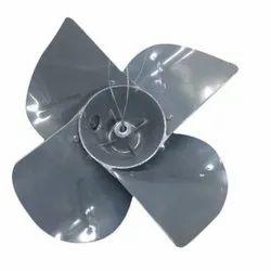 Grey Mild Steel 450mm Exhaust Fan Blade, Blade Size: 300mm